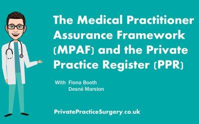 MPAF: Medical Practitioners Assurance Framework