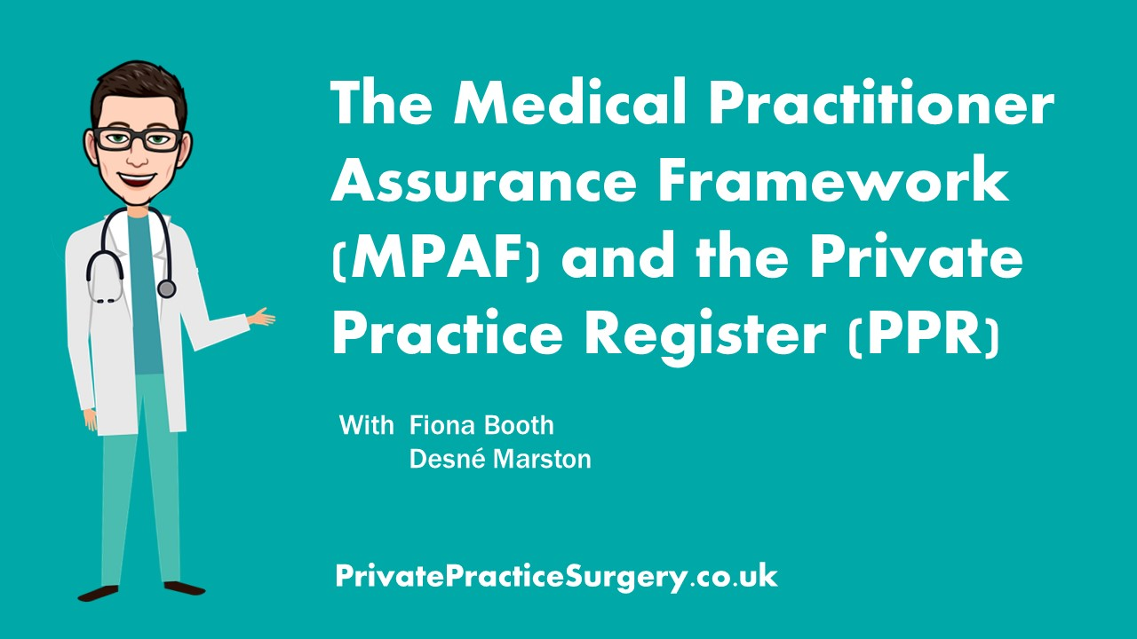 Introduction to the MPAF | Private Practice Surgery